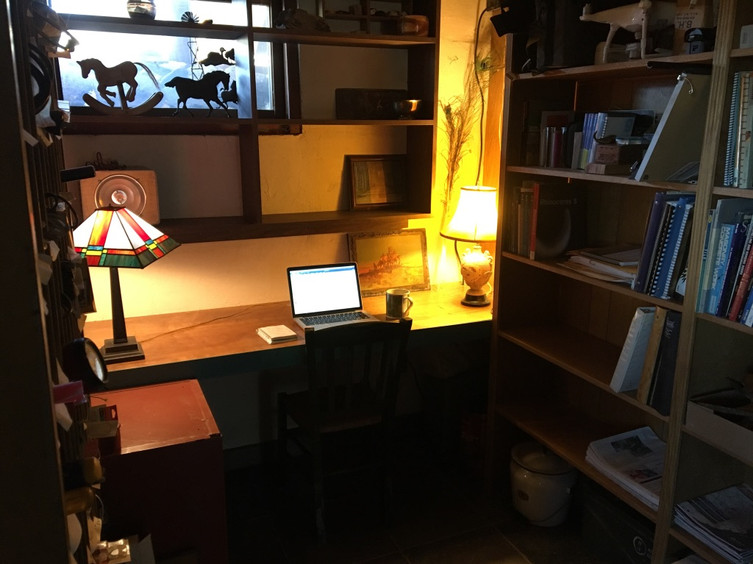 Writing in the Snug and Quiet)