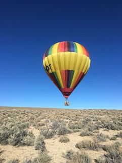 Sam Elkins' first solo flight, Nov. 2018