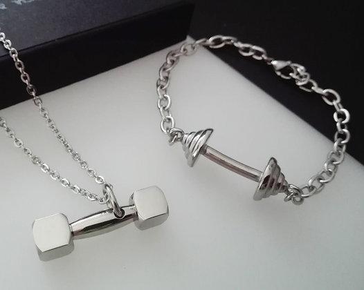 Set Bratara + Pandantiv Silver - SE011