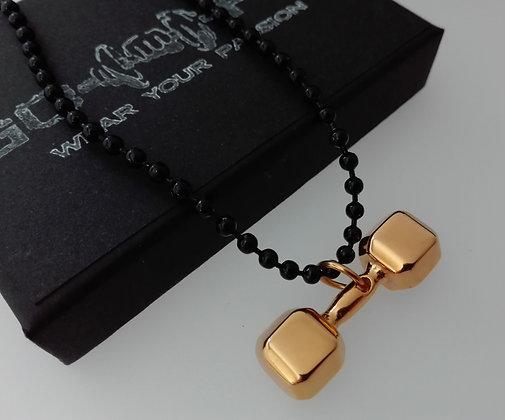 Pandantiv Gantera Black & Gold - PVG026