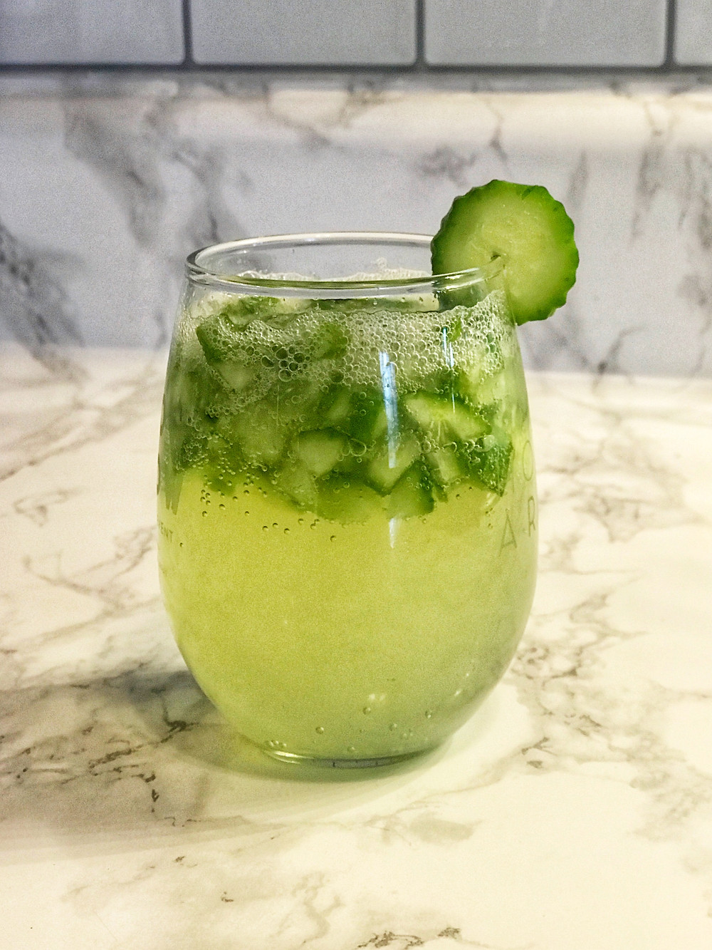 Cucumber Basil Mocktail