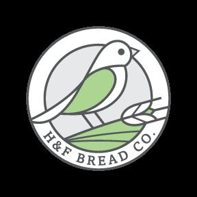 h&f bread co logo