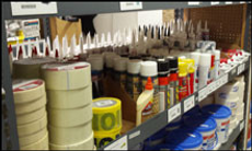 building maintenance supplies
