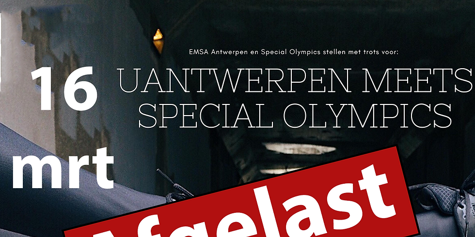 UAntwerpen meets Special Olympics