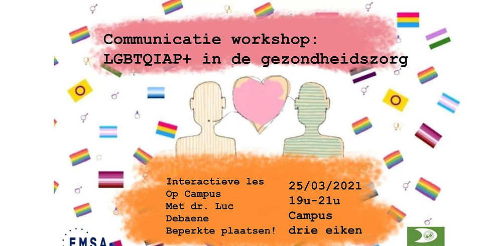 Communicatieworkshop: LGBTQIAP+ in de gezondheidszorg