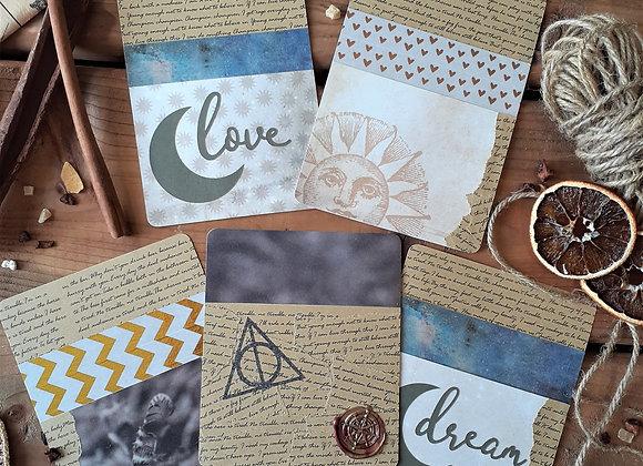 Paper & Bookmark Pockets