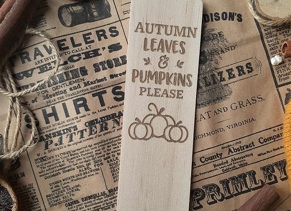Pumpkins Please