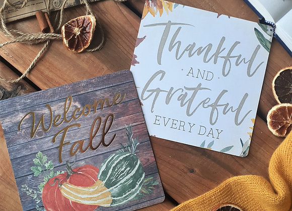 Thankful & Grateful Every Day