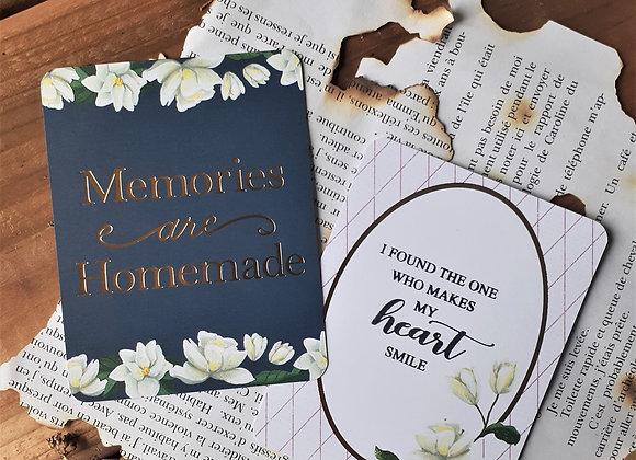 Memories Are Homemade