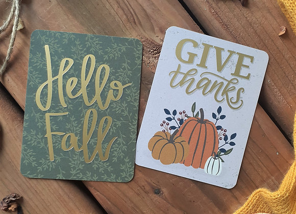 Give Thanks In Fall