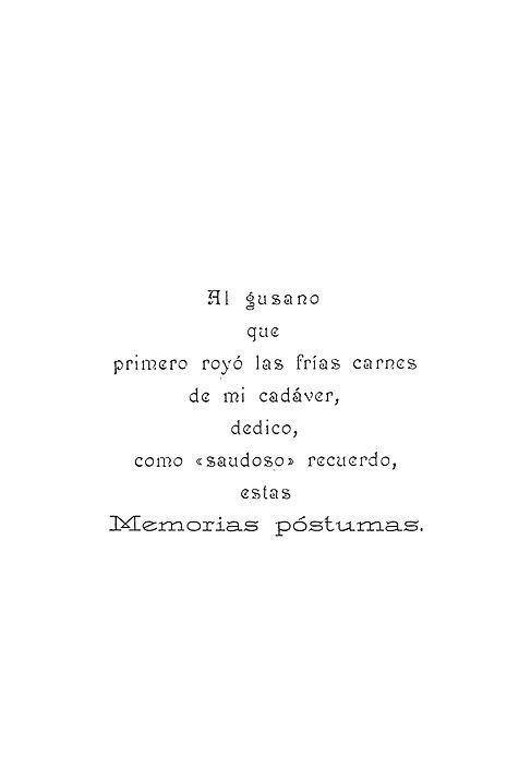 Memorias postumas de Blas Cubas_Machado