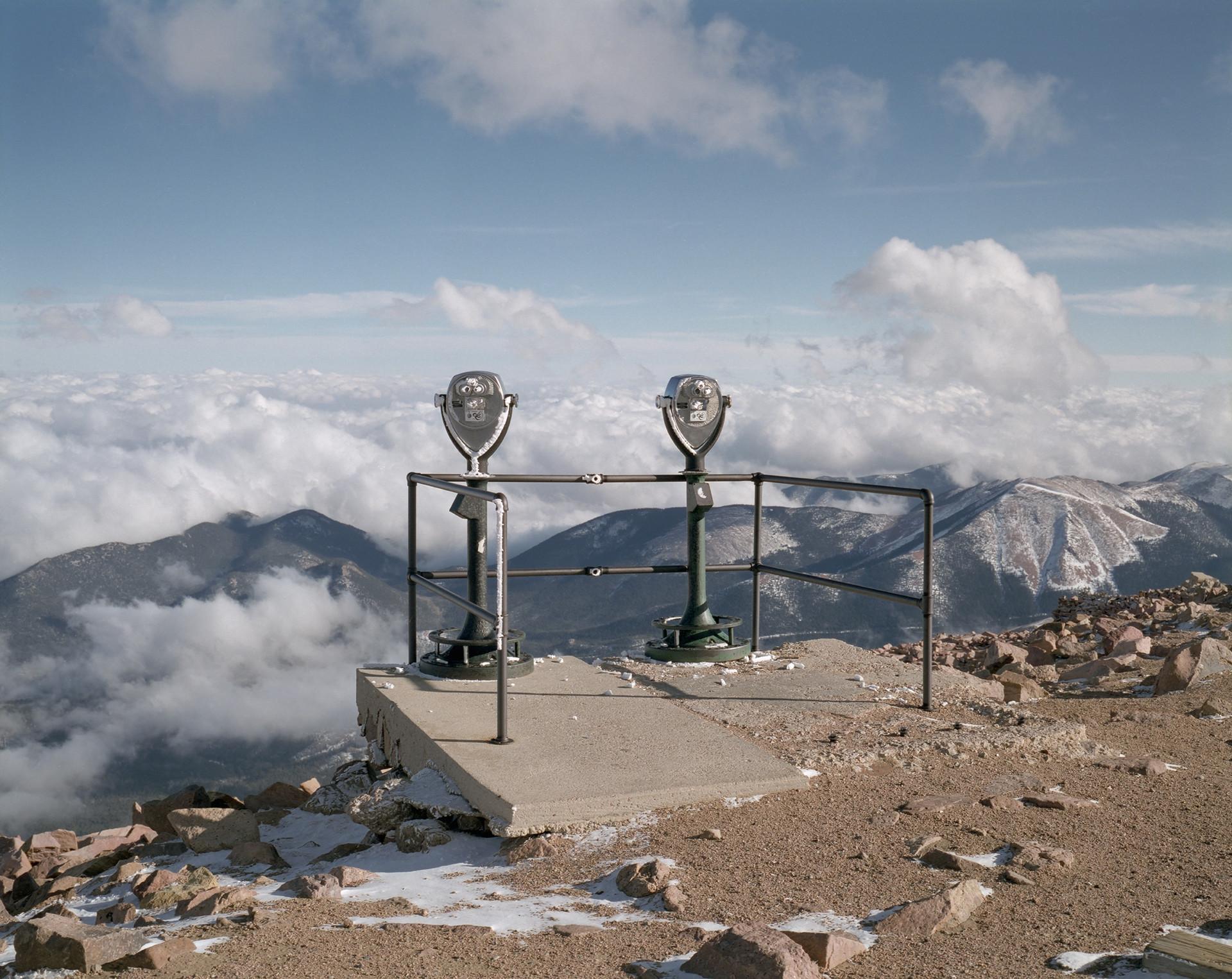 Observatory, medium format color film, 2020