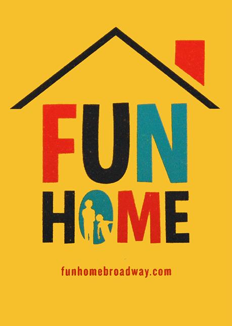 Fun Home the Broadway Musical - Logo Mag