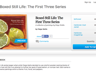 *Booked* Boxed Still Life Series