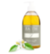 Massage oil with Neroli. Faith CBD skincare wellness products. Anxiety and pain relief, stress reduction.