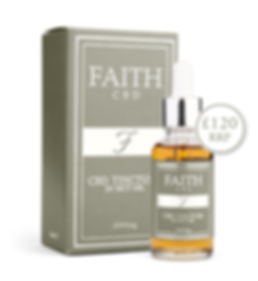 Faith CBD skincare wellness products. Anxiety and pain relief, stress reduction. Full spectrum CBD tincture.