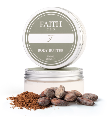 Faith CBD Body Butter fo dry and irritated skin