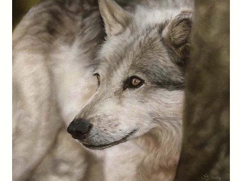 'VIGILANCE' LIMITED EDITION WOLF PRINT