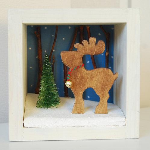 Reindeer Box Decoration