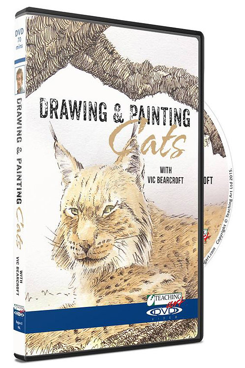DRAWING & PAINTING CATS DVD