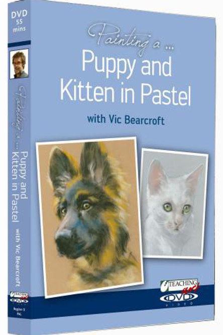 PUPPY& KITTEN IN PASTEL DVD