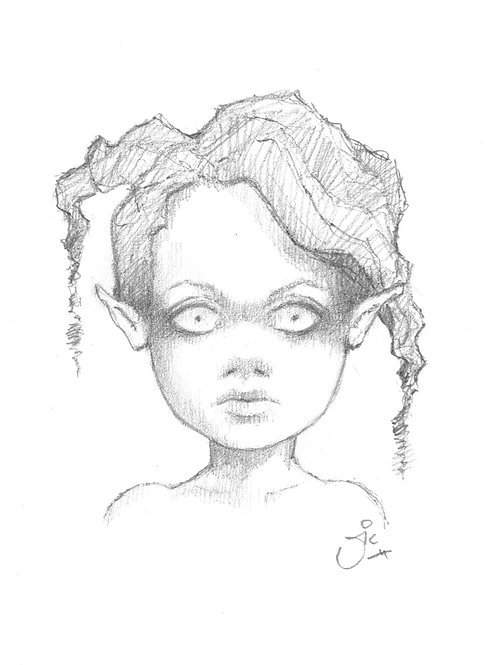Punk Fairy Original Sketch