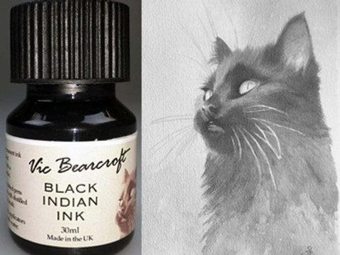 BLACK INDIAN INK
