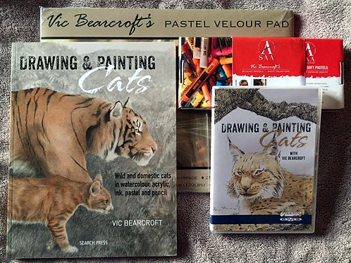 DRAWING & PAINTING CATS DELUXE BUNDLE