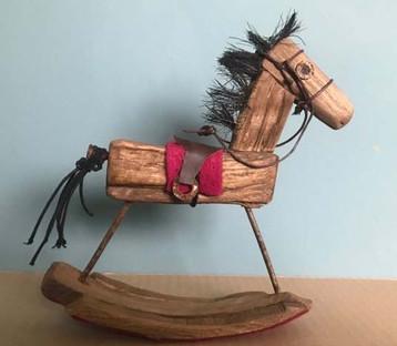 Driftwood Rocking Horse