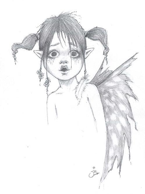 'Surprise!' Original Sketch
