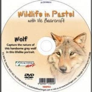 WILDLIFE IN PASTEL DVD - WOLF