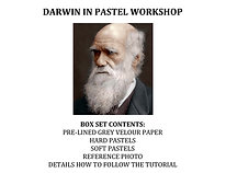 Zoom Live - Charles Darwin in Pastel Workshop Kit
