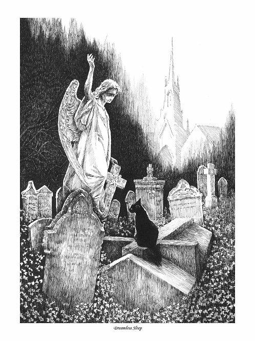 'DREAMLESS SLEEP' OPEN EDITION GOTHIC PRINT