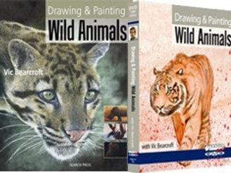 DRAWING & PAINTING WILD ANIMALS - BOOK & DVD SET