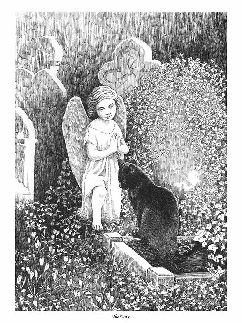 'THE FAIRY' OPEN EDITION GOTHIC PRINT