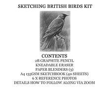 Sketching British Birds Course Kit
