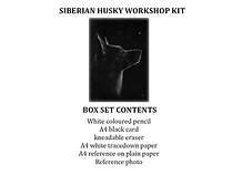 Zoom Live - Ella Siberian husky Workshop Kit