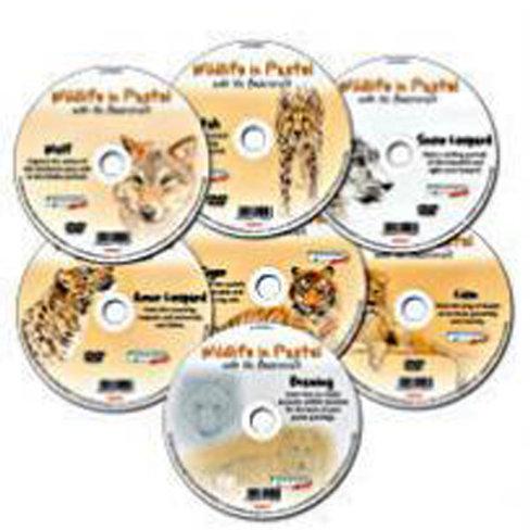 WILDLIFE IN PASTEL DVD - FULL SET