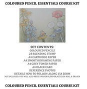 Coloured pencil Essentials Course Kit