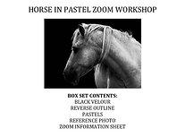 Zoom Live - Horse in Pastel Workshop Kit