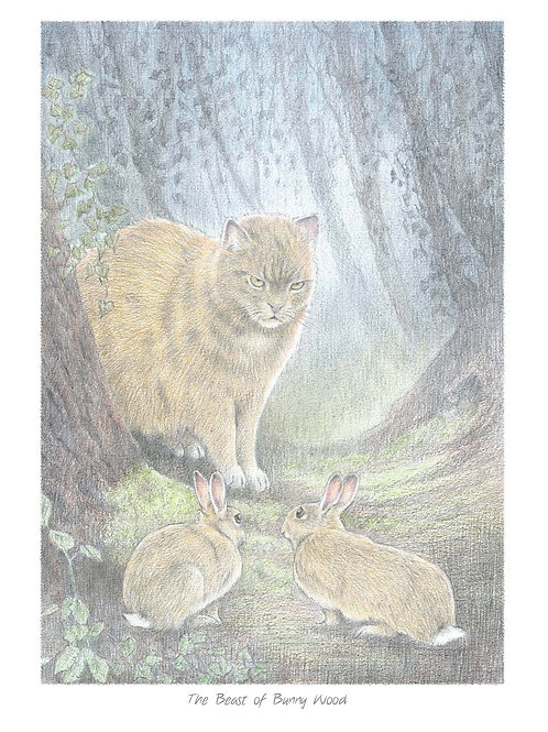 'The Beast of Bunny Wood' Open Edition Print