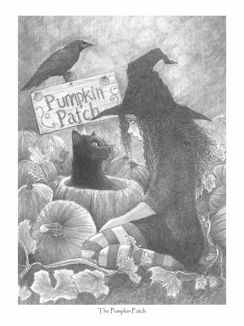 'The Pumpkin Patch' Fundraising Print