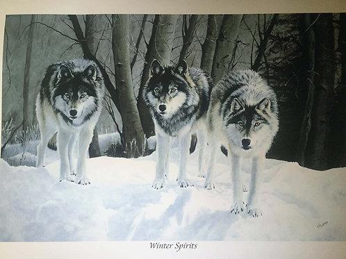 Winter Spirits Limited Edition Print