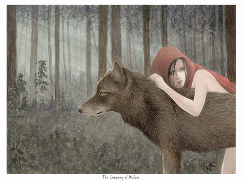 The Company of Wolves, Open Edition Print