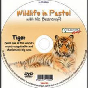 WILDLIFE IN PASTEL DVD - TIGER