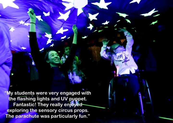 Image result for feel theatre sensory circus photos