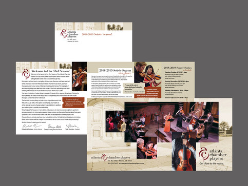 Atlanta Chamber Players 2018/2019 Season Brochure.