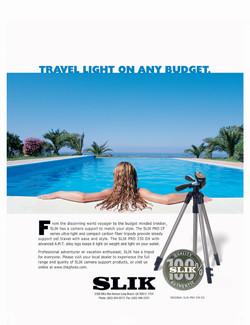 SLIK Tripod Ad
