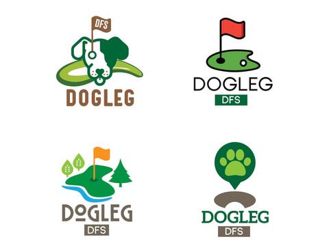 Dogleg DFS Logo Design