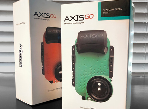 Package Design for AxisGo housings for Apple iPhone 8 & X-Series.